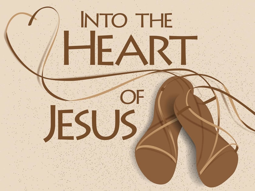 Into the Heart of Jesus Sermon Series Title Slide