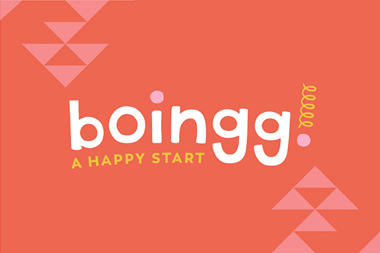 BOINGG branding