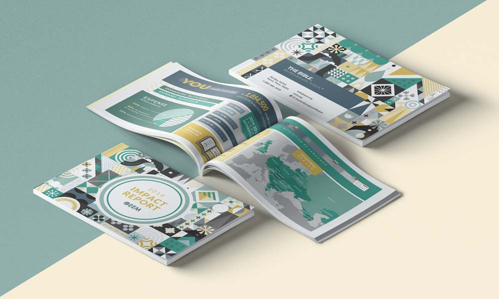 Lucca Bed and Breakfast Print Design