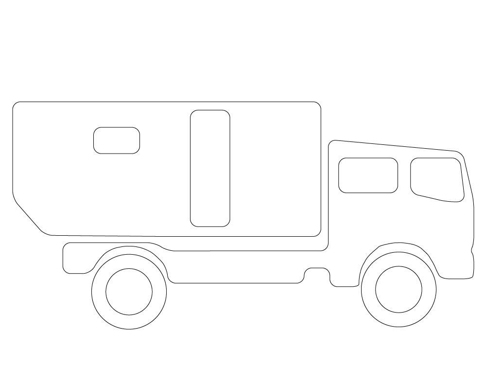 Expedition truck icon