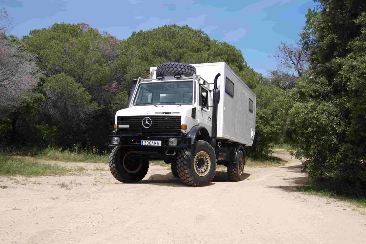 expedition truck made in barcelona, expedition truck for trips around the world