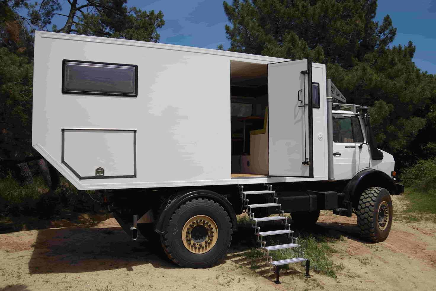 Zocama Custom made expedition trucks made in Barcelona