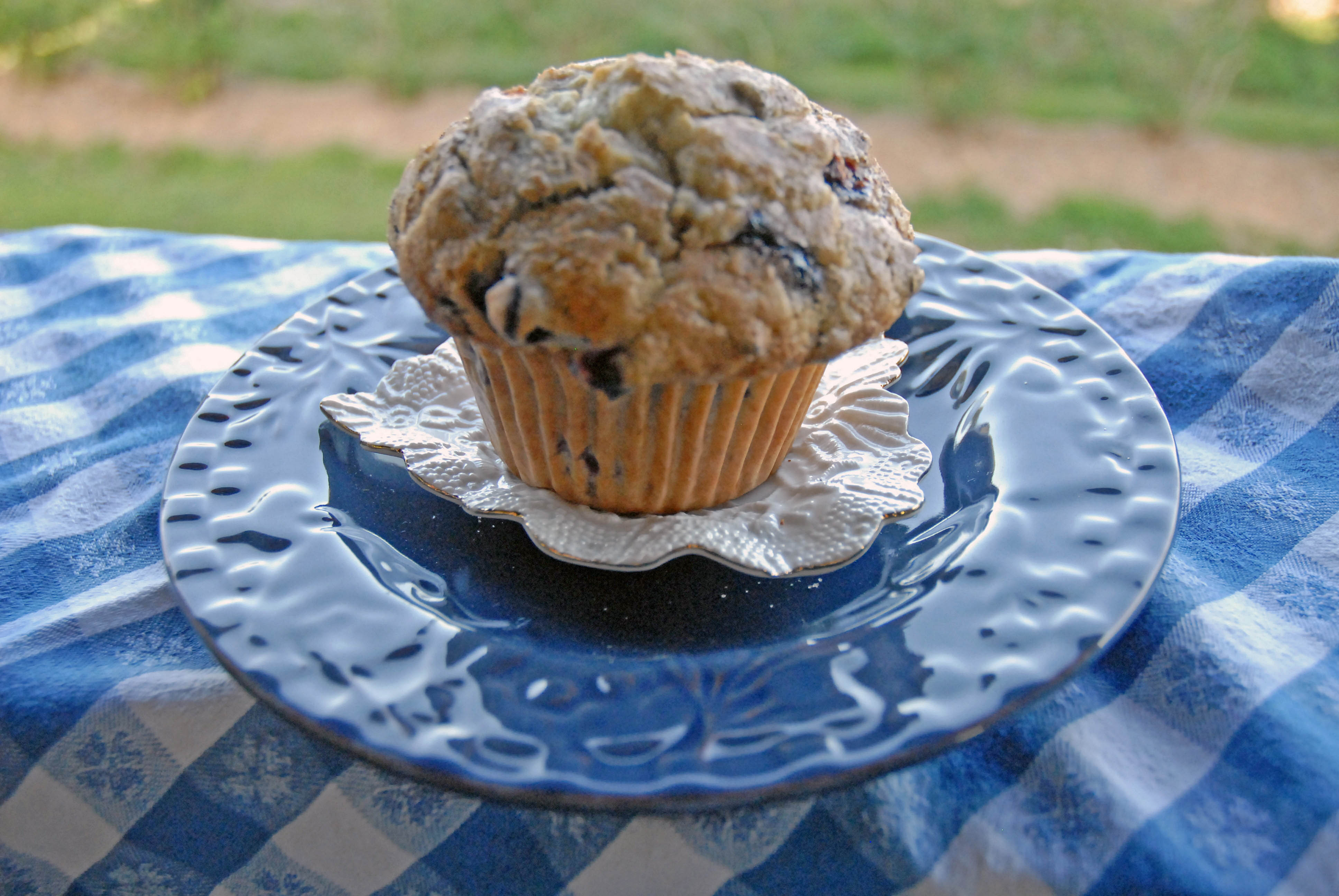 Blueberry Thunder Muffin