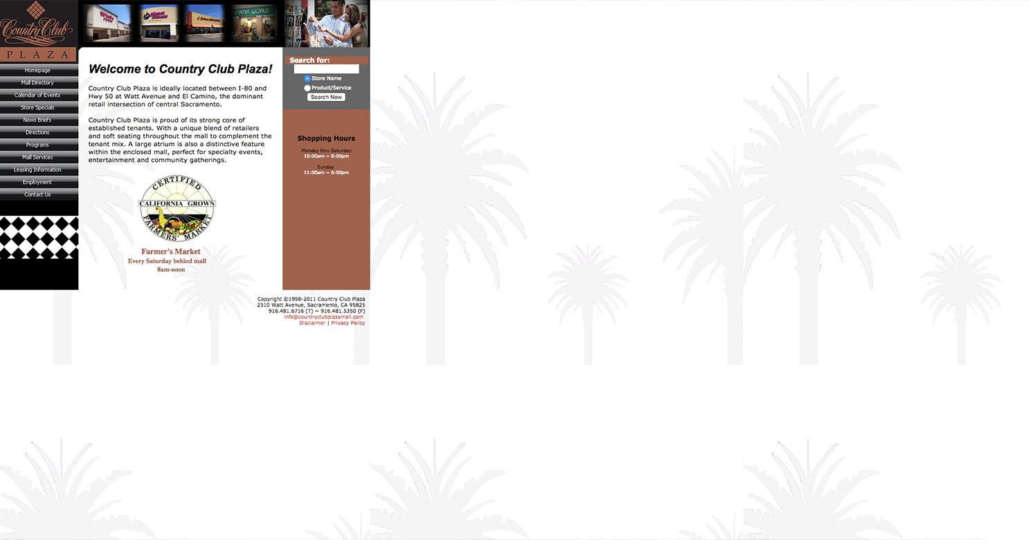 Non-Responsive Website Design