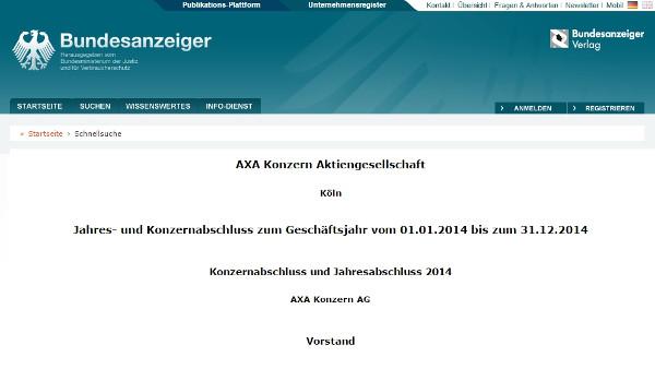 AXA Gruppe (EN)