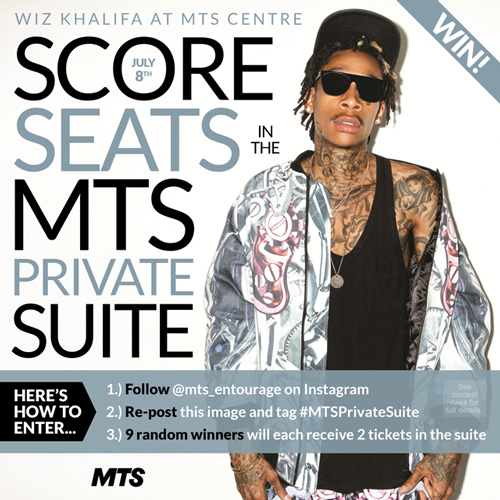 MTS Wiz Khalifa Contest