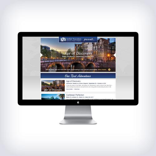 Artful Travelers Website