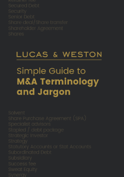 M&A Jargon guide