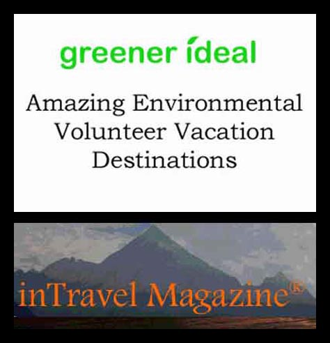 InTravel Magazine and Greener Ideal