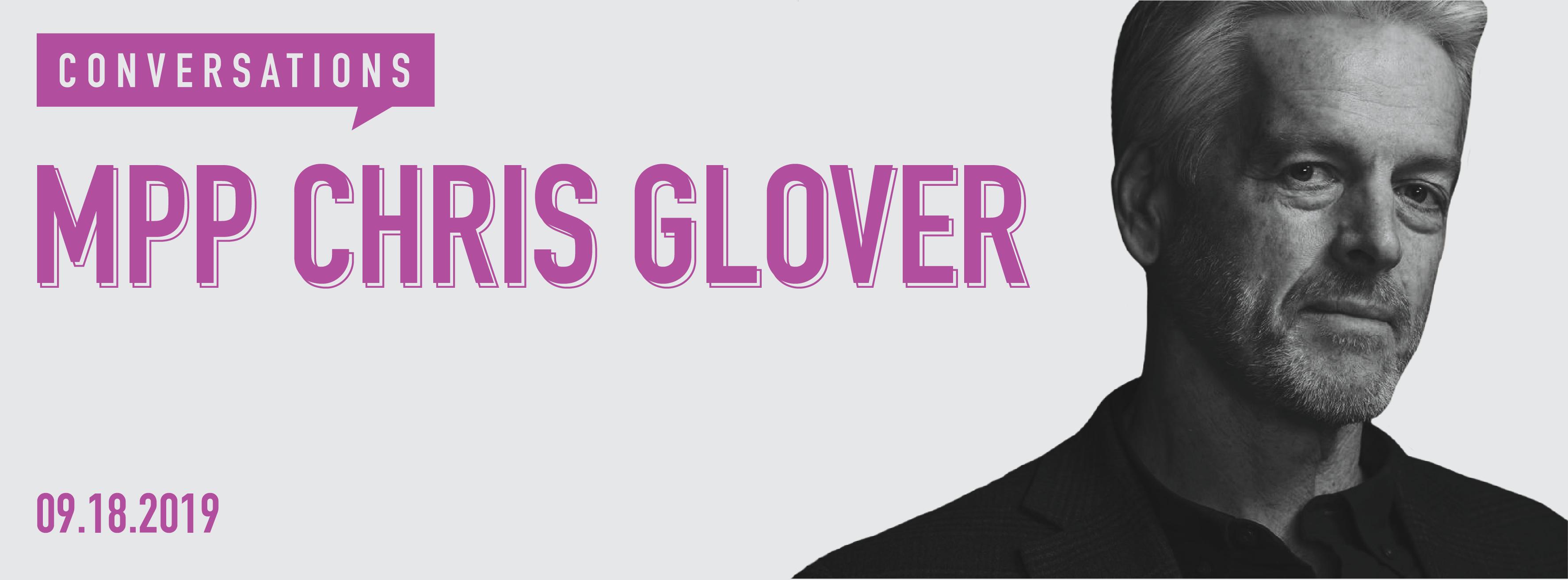 MPP Chris Glover
