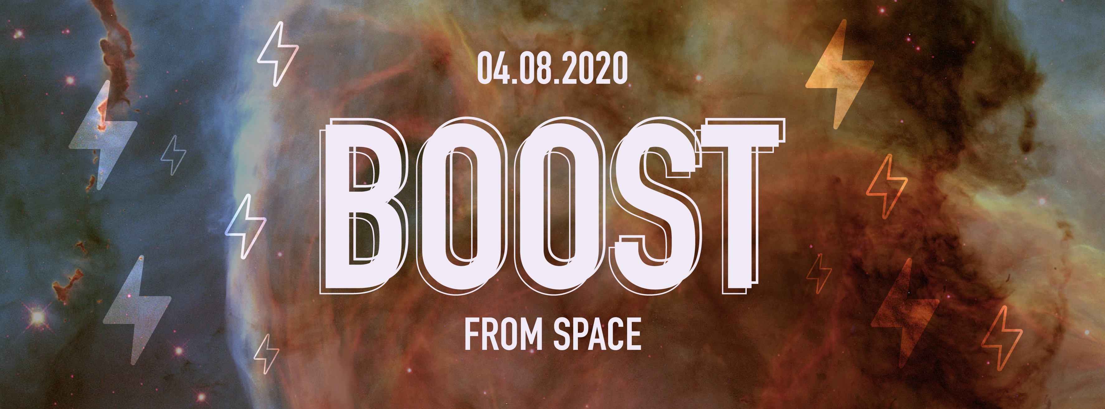 BOOST... From Space!!!