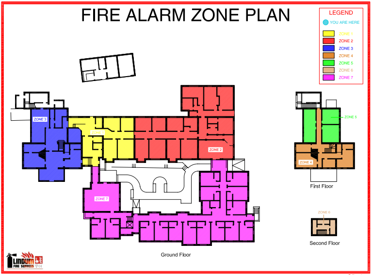 Fire Alarm Zone Plans