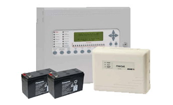 Wireless Radio Fire Alarm System