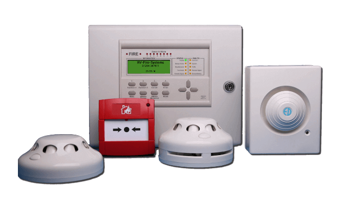 Wireless Radio Fire Alarm System