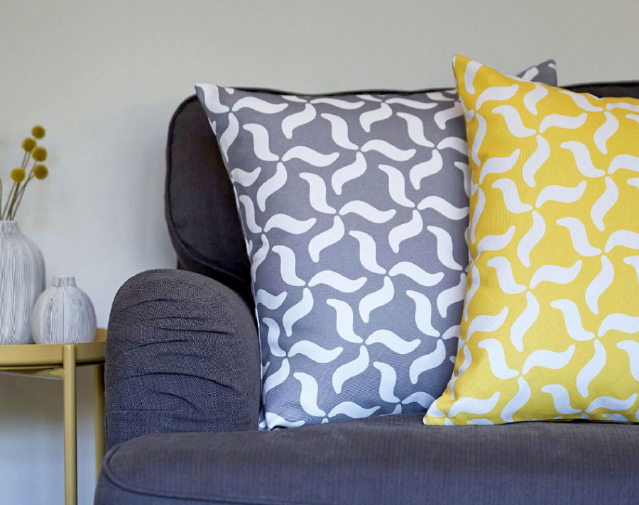 Photo of Wave scatter cushions