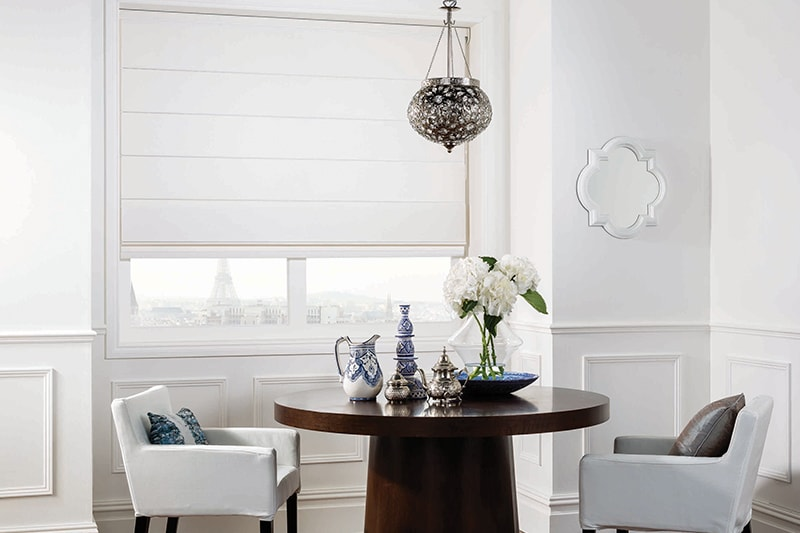 Roman Blinds Mineral Pearl
