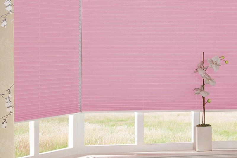 Pleated Blinds Twilight Esp Blush Pink