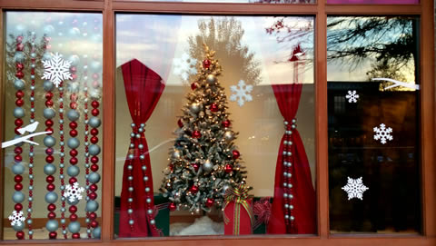 Shopping Center Window Displays