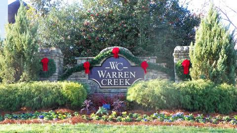 Atlanta Community Entrance Decor