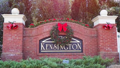 Holiday Decor for Community Entrances
