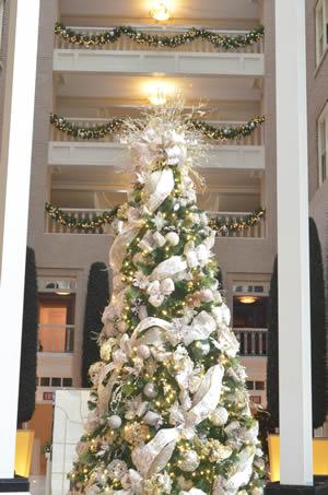 Atlanta Hotel Christmas Trees