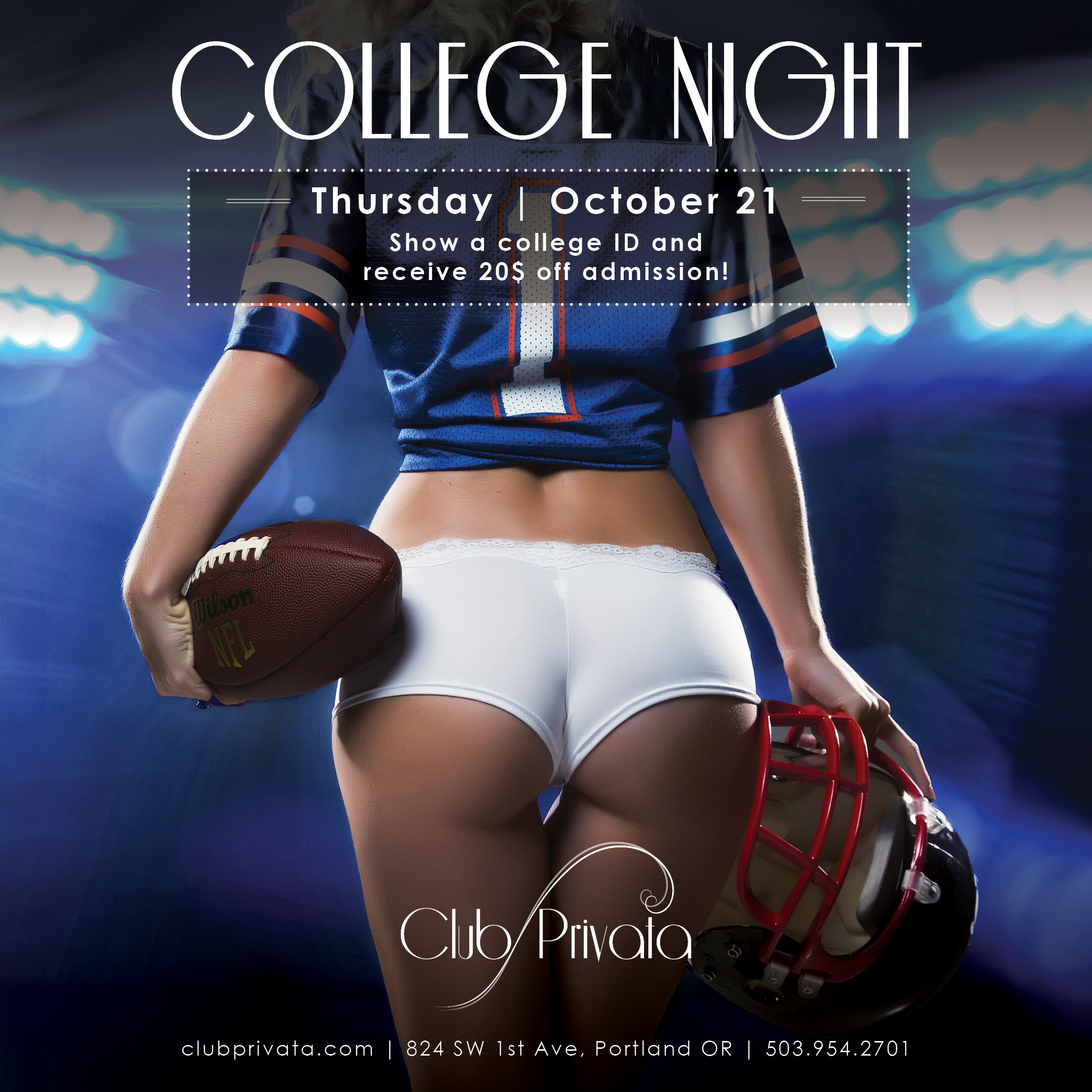 Thick Girl Night at Club Privata