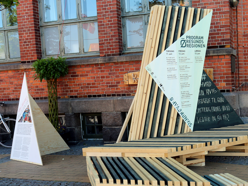 Exhibition at Folkemødet Political Festival