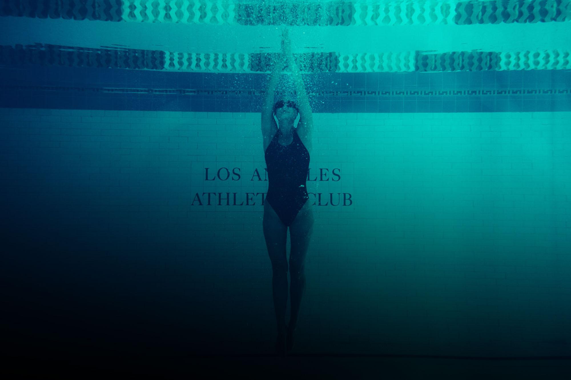 swimming at the la athletic club hotel