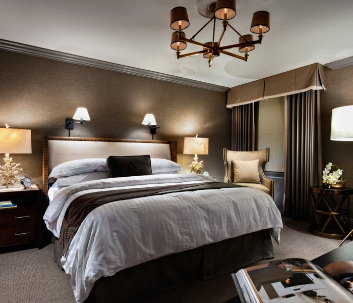 master bed  los angeles athletic club hotel