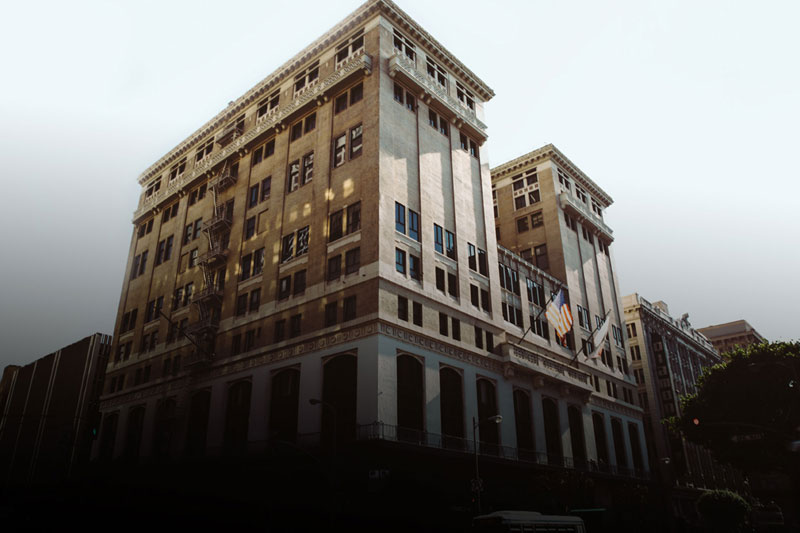 outside shot of the laac hotel