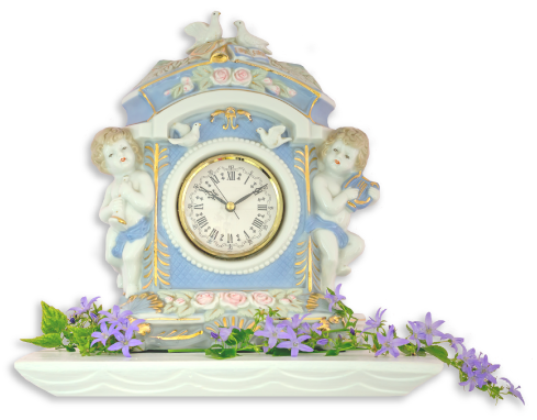 Wedgwood wall clock image