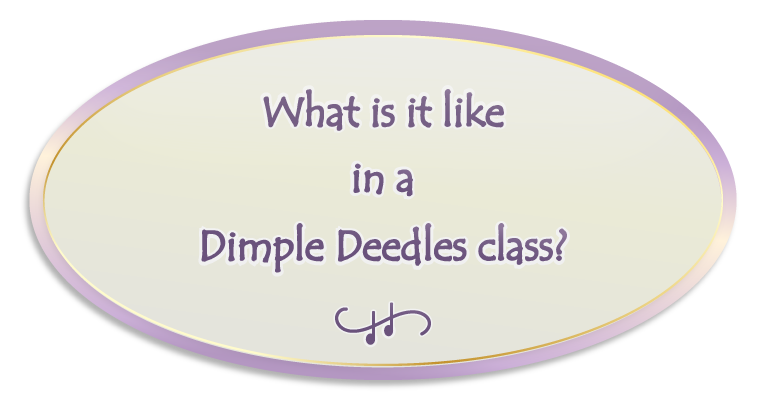 What's it like in a Dimple Deedles class photo