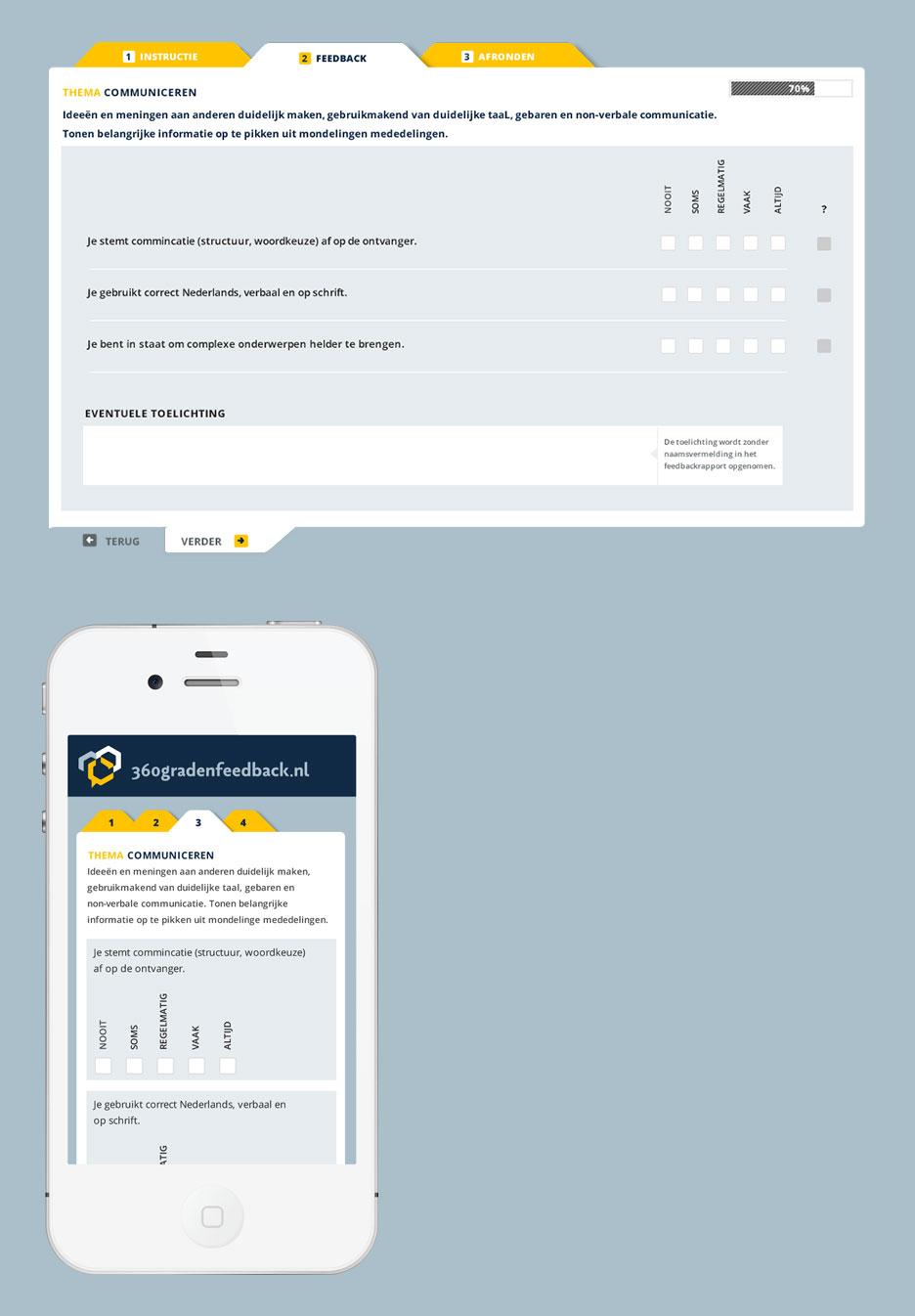 360 graden feedback op je smartphone