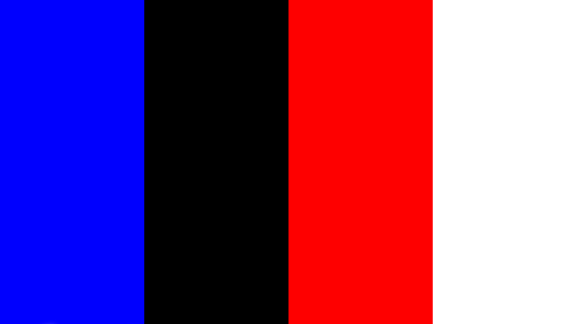 Blue Black Red White