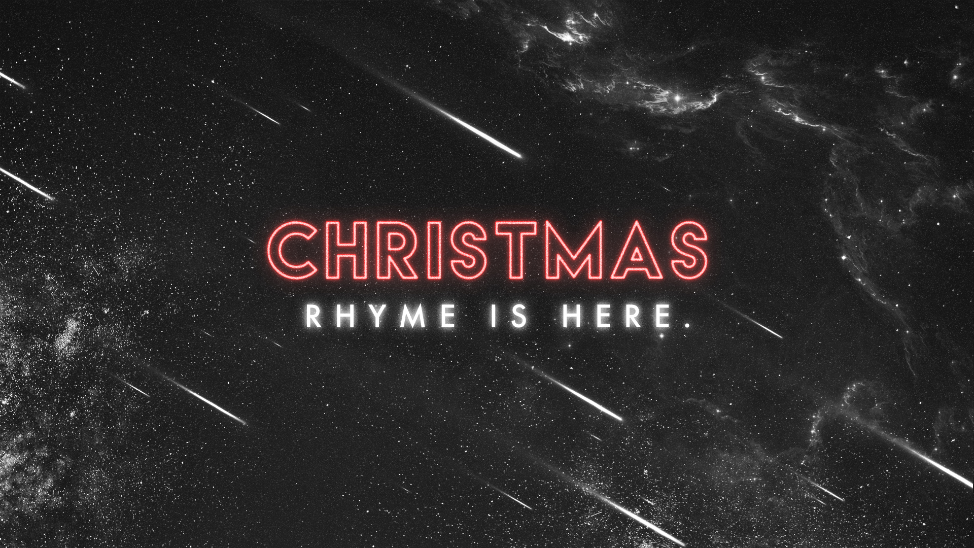 Christmas Rhyme Is Here