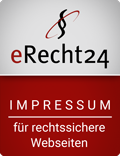 ERecht24 - Logo - Impressum für rechtssichere Webseiten