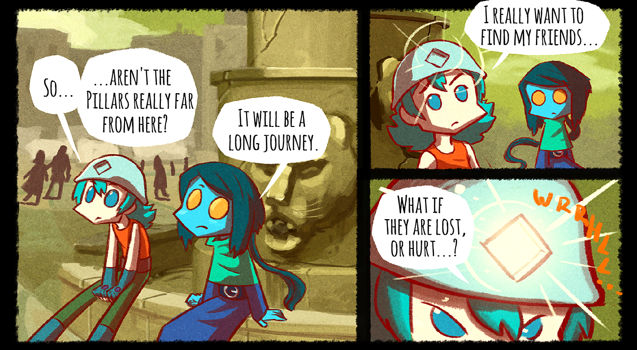 Light Apprentice Comic GameBook