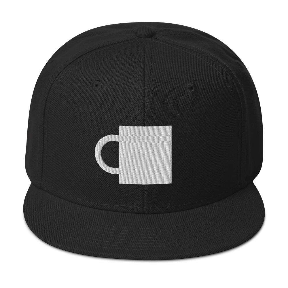 Caffeinated Beverages Mug Icon Snapback Hat