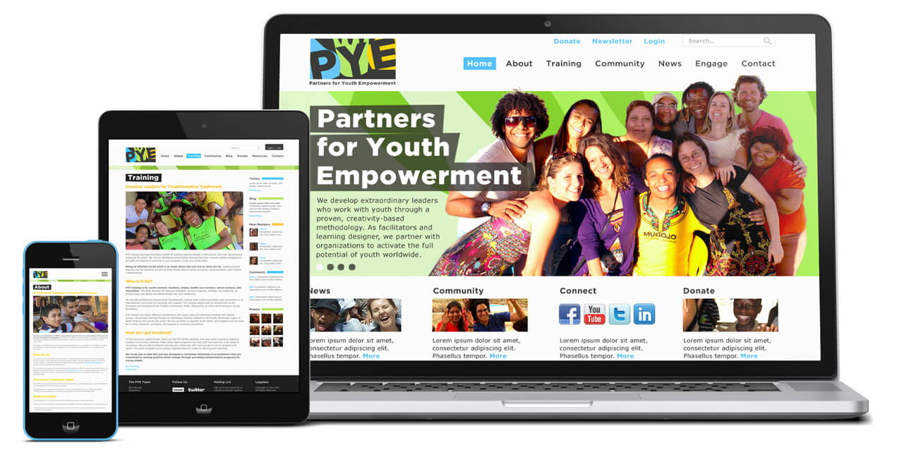 PYE website