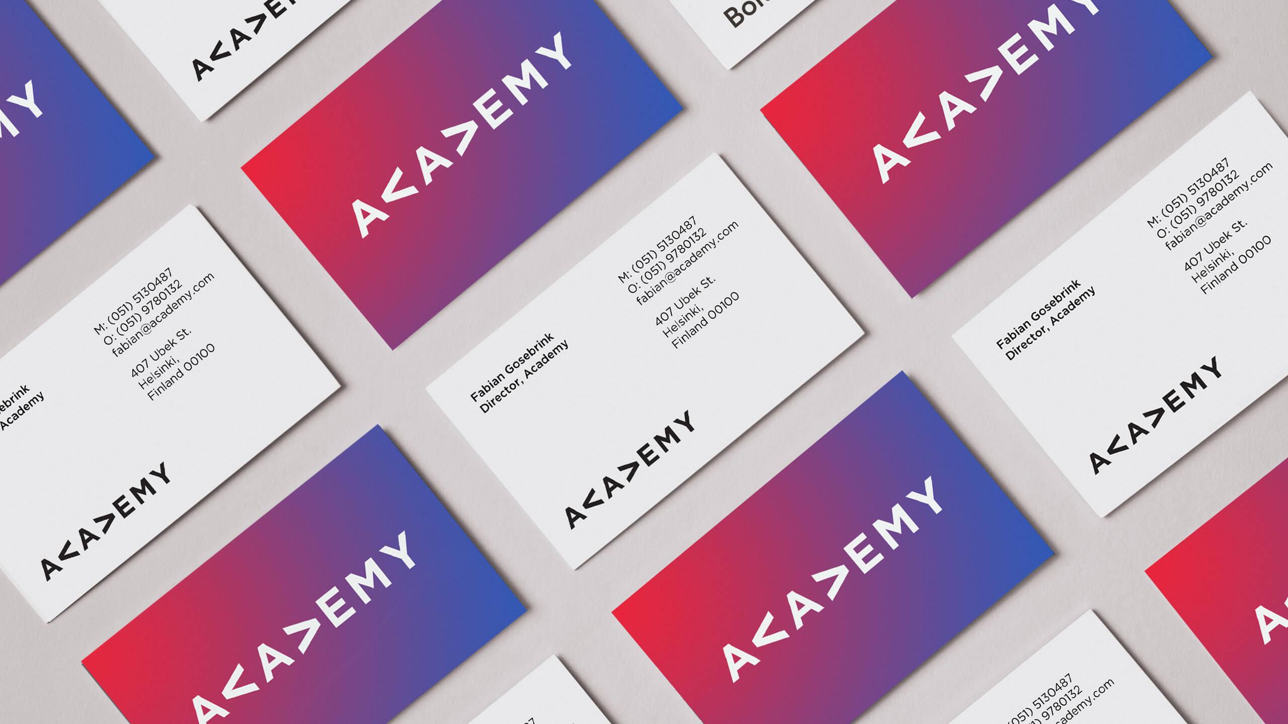 Academy showcase