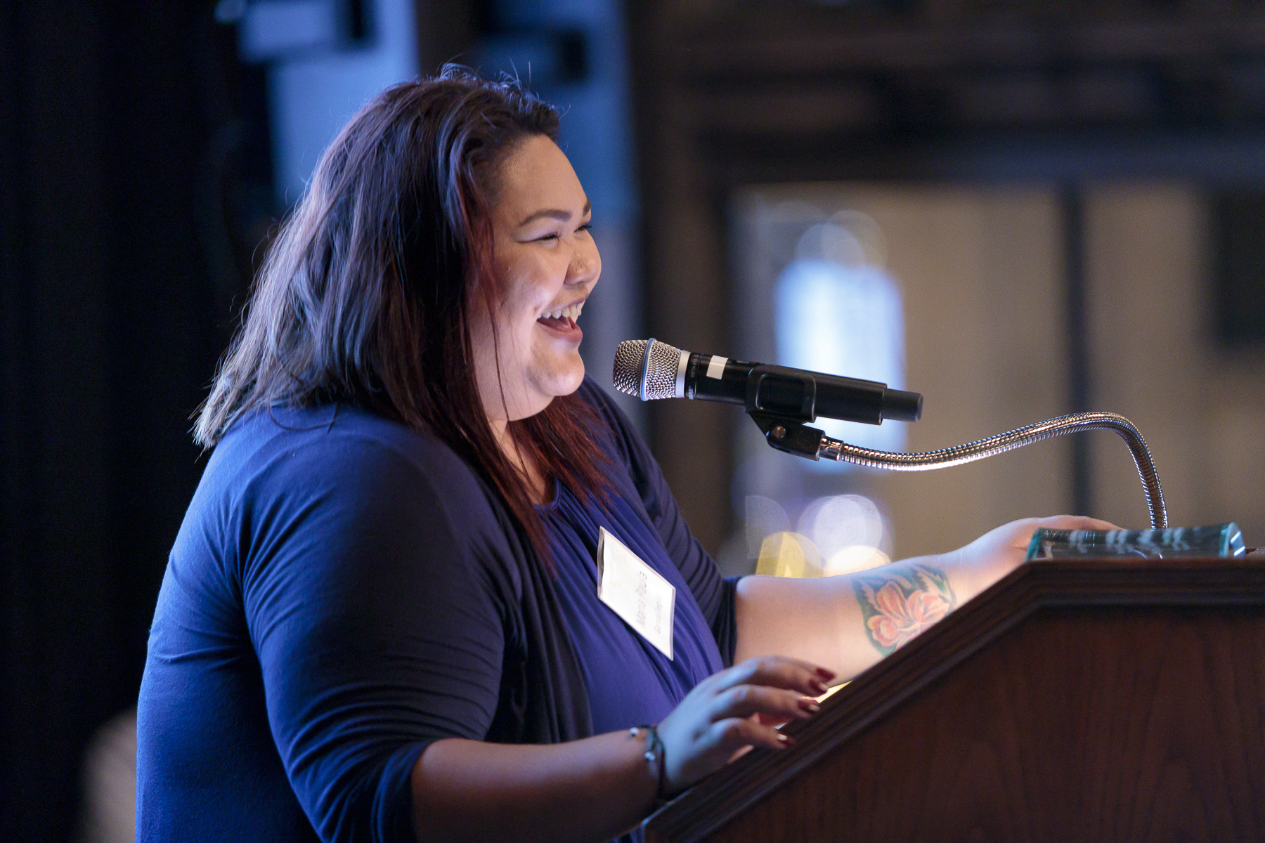 Maria Paula Gareza Degillo, 150th Anniversary Youth Engagement Award Honoree  (photo by Stephen J. Serio Photography)
