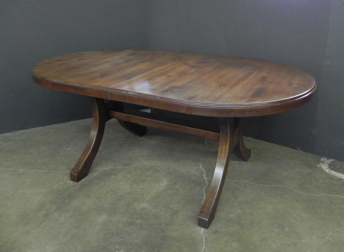 Custom extending dining table