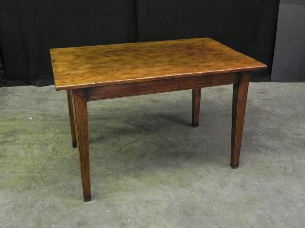 rectangular antique finish farm house style table
