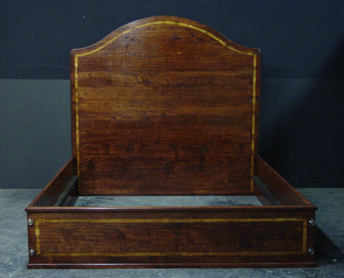 Custom headboard and bed frame