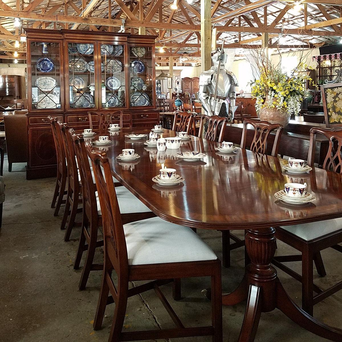 Mahogany formal dining room furniture