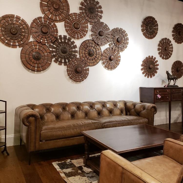 New Jasmine leather sofa