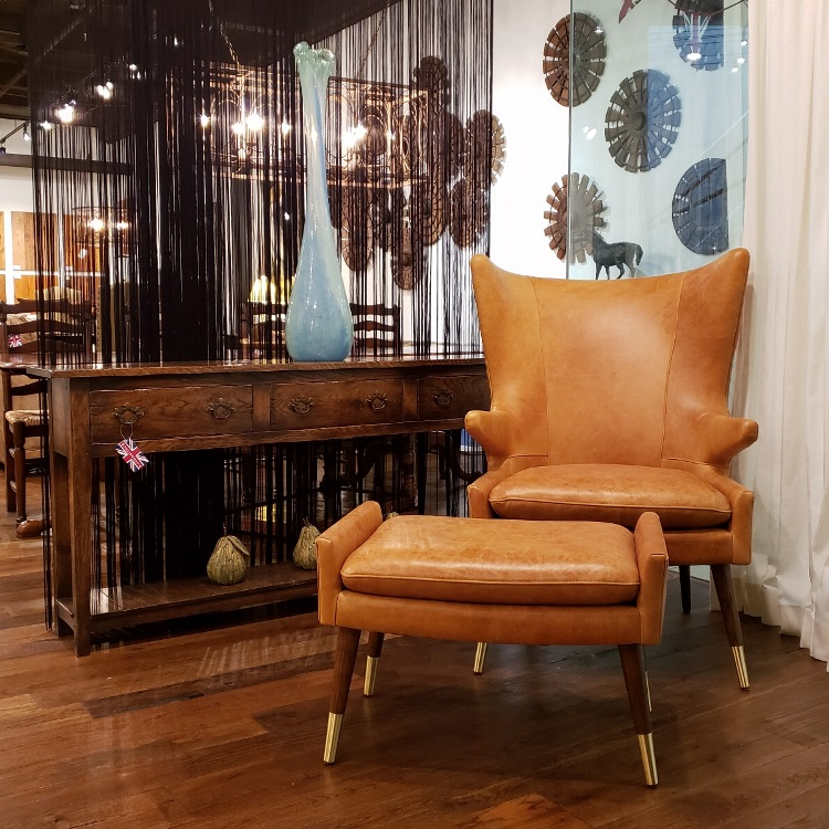 New Judy chair and ottoman