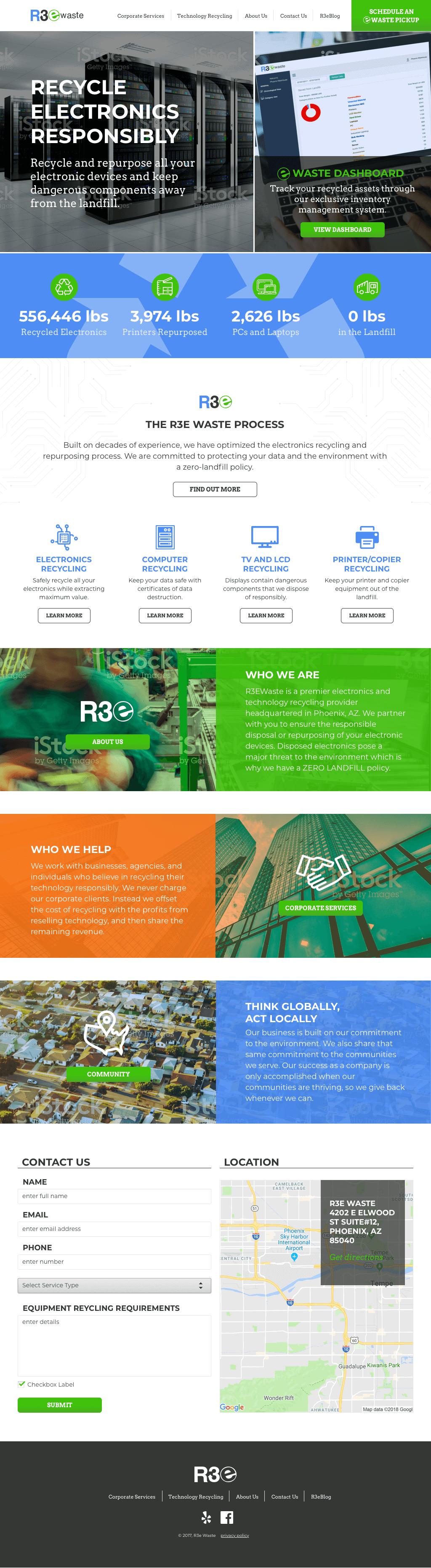 Photo of r3e site progress