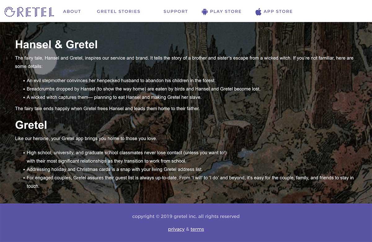 Gretel Before