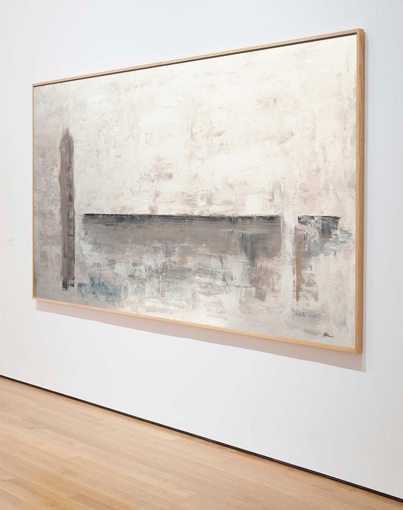 Cuadro Luz y Sombra en galería de arte